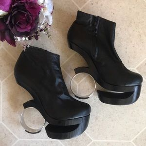 Shoes - Handmade leather booties